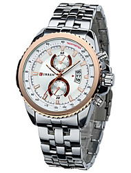 cheap -Men's Dress Watch Fashion Watch Chinese Quartz Calendar / date / day Alloy Band Charm Multi-Colored