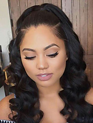High Quality 7A Brazilian Human Virgin Hair Glueless Lace Front Wig With Baby Hair Wholesale For Black Woman Fashion Style