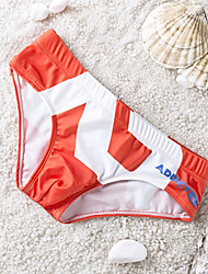 Men's Elastic/Nylon Swim Shorts