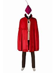 Superhéros Prince Cosplay Costume de Cosplay Pour Halloween Costume de Soirée Bal Masqué Cosplay de Film Gilet Chemise Pantalon Ceinture