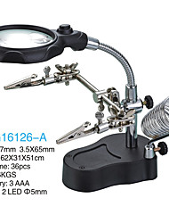 3.5/12X65 Magnifiers/Magnifier Glasses High Definition LED Desktop Jewelry Reading Watch Repair Equipment & Tools General use Fully Coated