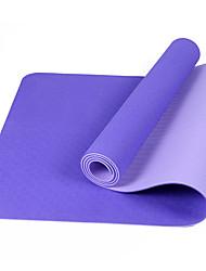 Yoga Mats Ecológico Sem Cheiros 6 mm Roxa Azul Real Roxo Escuro Azul Claro