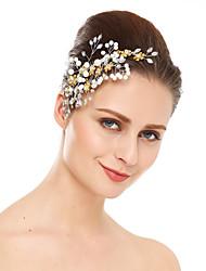 Недорогие -кристалл имитация жемчуг горный хрусталь волосы гребень головной убор элегантный стиль