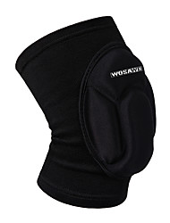 cheap -WOSAWE 1 PC Elastic Knee Pads Breathable Football Basketball Snowboarding Skating Cycling Sports Leg Sleeve Kneepad Protector