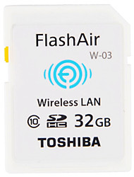 abordables -Toshiba 32GB SD Card wifi tarjeta de memoria Clase 10 FlashAir