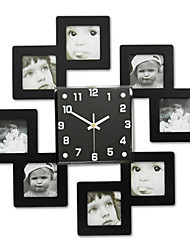 cheap -Arrival Home Wall Clock Bedroom Living Room Decoration Photo Frame Photowall Clock Fashion Bridal Decoration Watches