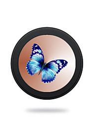 cheap -Universal Blue Butterfly 5V 2A  Wireless Charging Pad Mobile Wireless Power Charger for Galaxy S6 S6 EDGE  S7 S7 EDGE NOTE5 Samsung HTC LG Nexus Nokia