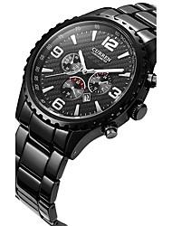 Men's Sport Watch Fashion Watch Wrist watch Quartz Calendar Alloy Band Casual Multi-Colored