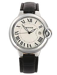 Men's Sport Watch Dress Watch Fashion Watch Wrist watch Mechanical Watch Automatic self-winding Calendar Swiss Designer Genuine Leather
