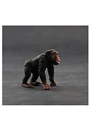 cheap -Action Figures & Stuffed Animals Toys Horse Lion Zebra Monkey Animals Novelty Plastic Pieces