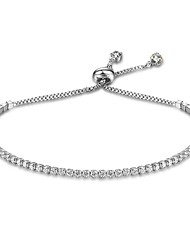 Women's Chain Bracelet Natural Costume Jewelry Sterling Silver Drop Jewelry For Gift Valentine
