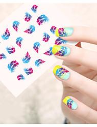 1pcs Adesivos para Manicure Artística Transferência de água adesivo Flor Desenho Adorável maquiagem Cosméticos Designs para Manicure
