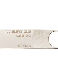 abordables -Kingston dtse9g2 128gb usb 3.0 flash drive digitales datatraveler metal