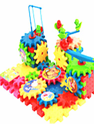cheap -Building Blocks Jigsaw Puzzle Educational Toy Toys Multifunction Electric Plastic Kids 81 Pieces