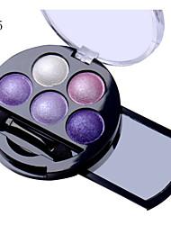 baratos -5 Pós Olhos Gloss Colorido Natural Maquiagem para o Dia A Dia / Maquiagem para Dias das Bruxas / Maquiagem de Festa Diário Maquiagem Cosmético