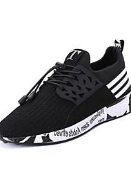 Недорогие -Муж. обувь Полиуретан Весна / Осень Удобная обувь Спортивная обувь Для прогулок Черный / Серый / Синий
