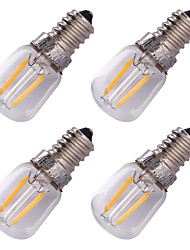2W E14 LED Filament Bulbs G60 2 COB 150-200 lm Warm White 3000 K Decorative AC 220-240 V