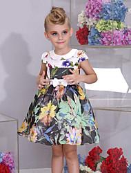 Vestido Chica deFloral-Algodón-Verano-Multicolor