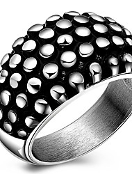 Ring Acrylic Halloween Party Daily Casual Jewelry 316L Titanium Steel Men Ring Size 7 8 9 10 Personality Punk Stainless Steel