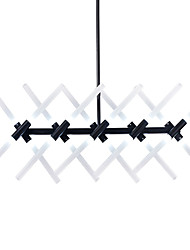 Chandelier ,  Modern/Contemporary Electroplated Feature for Designers Metal Living Room Dining Room Study Room/Office