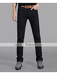 cheap -Men's Denim Jeans Pants - Solid
