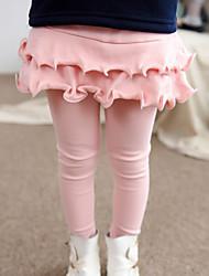 Pantaloni Bambina Per uscire Casual Cotone Tinta unita Inverno Primavera Autunno