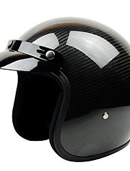 gxt g-361 fibre de carbone anti-brouillard respirant la moitié casque rétro casque de harley course dédié