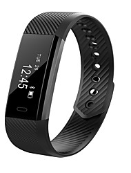 cheap -CARDMISHA ID15  Smart Bracelet Fitness Tracker Step Counter Fitness Band Alarm Clock Vibration Wristband For Iphone Android