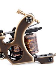 solong Tätowierung benutzerdefinierte Messing Tattoo Maschinengewehr 12 Wrap handgefertigt aus reinem Kupfer-Spulen für Shader m202-2