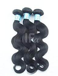 Недорогие -Малазийские волосы Классика Естественные кудри Ткет человеческих волос 3 предмета Высокое качество 0.33 Повседневные