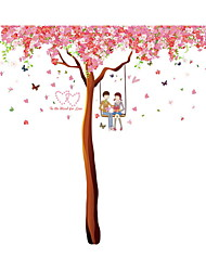 Wall Stickers Wall Decals Style Super Large Cherry Tree PVC Wall Stickers