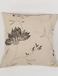 Embellished&Embroidered Polyester Pillow Case  Traditional/Classic Accent/Decorative