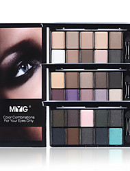 1Pcs Professional Makeup Brand 10 Warm Color Matte Eyeshadow Palette Neutral Nude Eye Shadow Cosmetic Palette Maquiagem With Brush