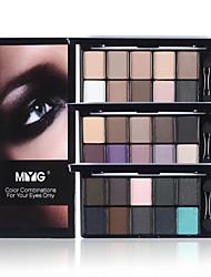 baratos -Sombra para Olhos / Pós Olhos Gloss Colorido Cobertura Longa Duração Maquiagem para o Dia A Dia / Maquiagem para Dias das Bruxas / Maquiagem de Festa Diário Maquiagem Cosmético