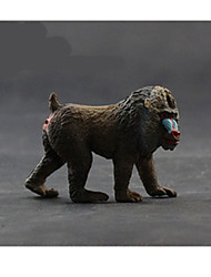 cheap -Action Figures & Stuffed Animals Display Model Toys Horse Lion Zebra Bear Toys Polar bear Animals Novelty Simulation Boys' Pieces