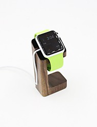 Apple Watch Stand TELESIN Pro Natural Wood Wooden Apple Watch Charging Dock / Station / Platform Iwatch Charging Stand Bracket Docking Station Holder