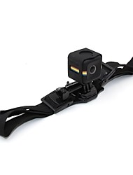 TELESIN New Bicycle Helmet Strap Mount with Frame Housing for Polaroid Cube and Cube and Action Camera Accessories Kit
