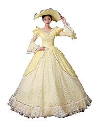 Princesse Déesse Costumes de père noël Costumes de Cosplay Féminin Halloween Noël Carnaval Nouvel an Fête / Célébration Déguisement