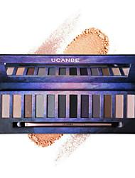 1Pcs  12 Color Nude Pro Eye Shadow Palette Perfect Golden Sleek Smoky Eyeshadow Shimmer Matte Naked Palette Makeup Set