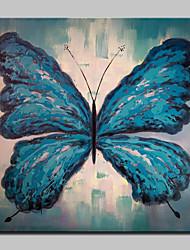 abordables -Peint à la main Animal POP Peintures à l'huile,Moderne Réalisme Un Panneau Toile Peinture à l'huile Hang-peint For Décoration d'intérieur