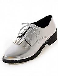 Homme-Mariage Bureau & Travail Habillé Décontracté Soirée & Evénement-Rose Argent Or-Gros Talon-Confort Nouveauté-Chaussures à Talons-