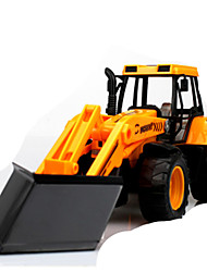 cheap -Pull Back Vehicles Construction Vehicle Toys Novelty Plastic Metal Pieces Boys' Children's Day Gift