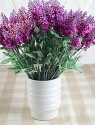 1pc High-grade Fake Dry Flower Lavender Tabletop Flower