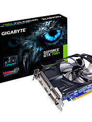 GIGABYTE Video Graphics Card GTX750Ti5400MHz2GB/128 bit GDDR5