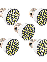 cheap -5pcs 5W 500-600 lm E26/E27 LED Spotlight T 32 leds SMD 5733 Decorative Warm White Cold White 6500K AC 85-265V