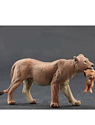 cheap -Action Figures & Stuffed Animals Display Model Toys Horse Lion Zebra Bear Tiger Polar bear Animals Novelty Simulation Boys' Pieces