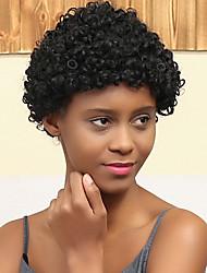 nouveau modèle petit volume mode rouleau african cheveux humains perruque dominante