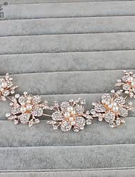 cheap -Imitation Pearl Rhinestone Headbands 1 Wedding Special Occasion Headpiece
