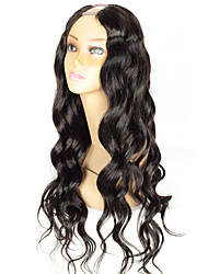 cheap -cheap body wave upart wig 1 5 4inch middle part u part human hair wigs brazilian human hair u shaped wig for sale wholesale instock