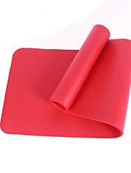 Yoga-Matten Umweltfreundlich Geruchsfrei 10 mm Rosa Rot Grün